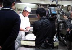 広島テレビ取材