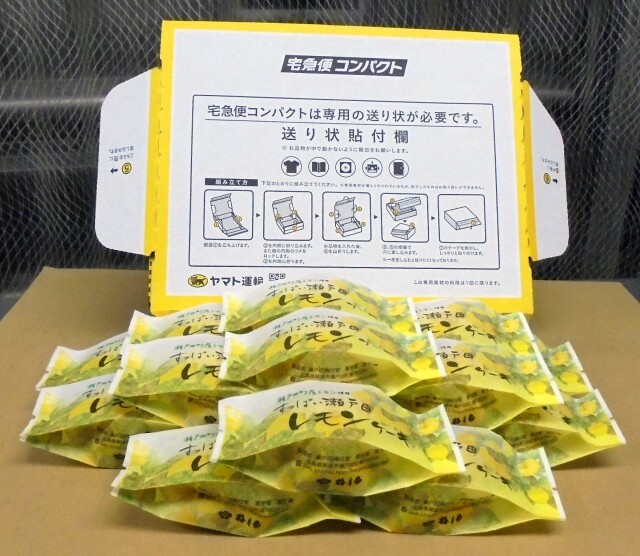すっぱい瀬戸田レモンケーキ15個